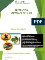 Nutricion Ortomolecular Agosto 2015