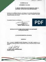 Acuerdo nro.2100-002-034