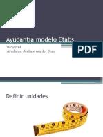 Ayudantía Modelo Etabs