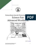 science fair workbook advanced