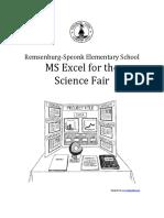 science fair excel