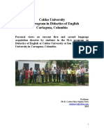 Dissertations 2015 Cartagena