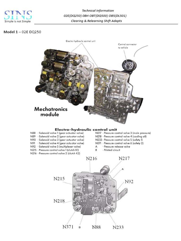 02e dq250  0bh obt dq500  ob5 dl501  inf tec pdf