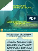 SISTEMA DE INVESTIGACIÓN CRIMINAL