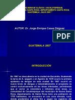 Presentacion de Dengue en Cacalotepeque
