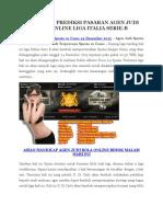 Info Pur Puran Bola Spezia vs Como 24 Desember 2015 New