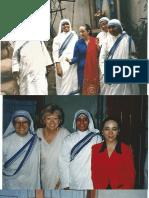 Calcuta 1996 Fotos Carta Madre Teresa Navidad 96