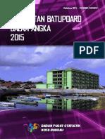 Kecamatan Batupoaro Dalam Angka 2015