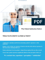 Why Patient Satisfaction Matters by Care Analytics