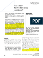 RIESCO - Latin America a New Developmental Welfare State