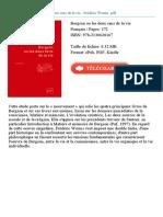 Bergson Ou Les Deux Sens Fr d Ric Worms Id36951