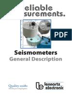 Seismometers Print