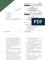 electrical uptu eipc question paper