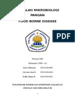 Makalah Food Borne Disease