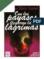 29201208 Simmel Johannes Mario Con Los Payasos Llegaron Las Lagrimas