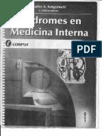 Sin Dromes de Medicina Intern A