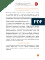 La Estructura Económica Del Perú y Los Principales Sectores Productivos