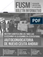 FUSM - Boletín Informativo - Noviembre 2015