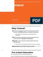 finland education project