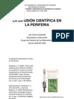 Sobre la Difusión Científica en la Periferia
