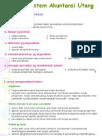 Presentasi Sistem Akuntansi Ch 10 Sistem Akuntansi Utang