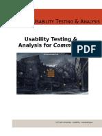 Commerce Test Report