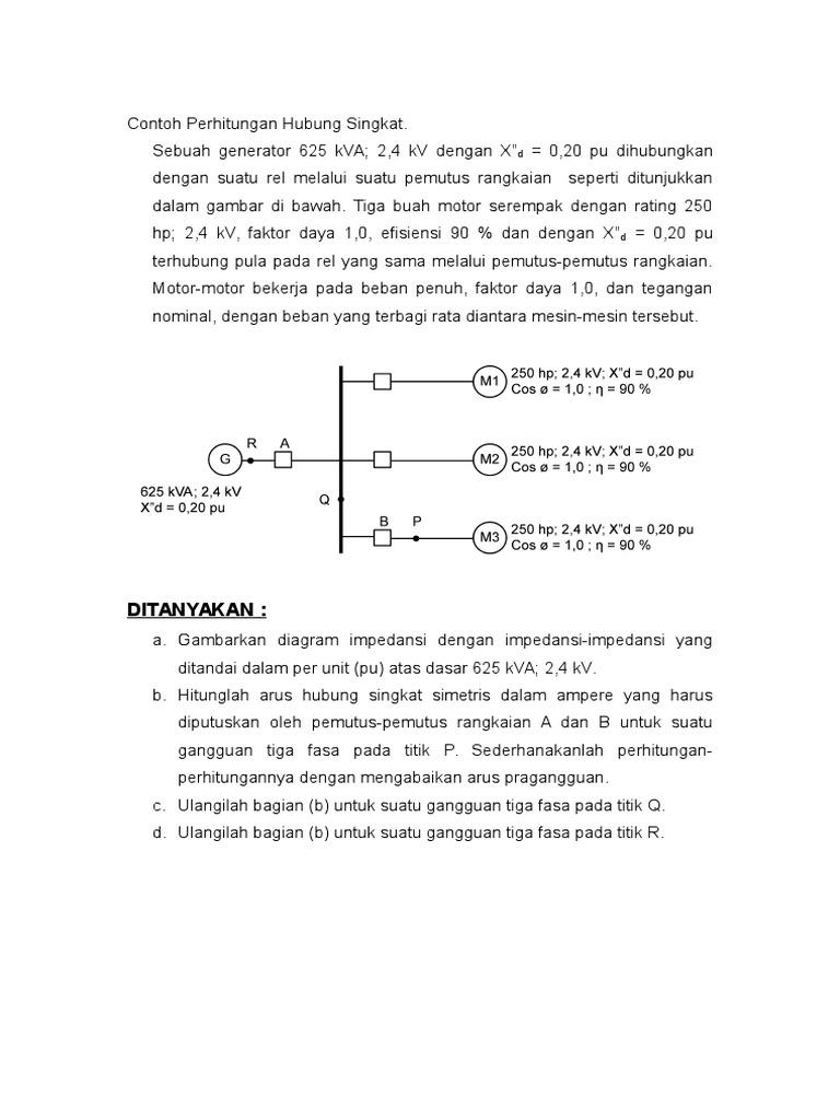 2 contoh perhitungan arus gangguanc ccuart Gallery