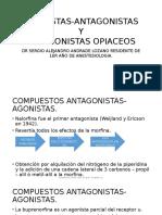 AGONISTAS-ANTAGONISTAS OPIACEOS