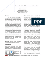 Library Portals and Information Architecture