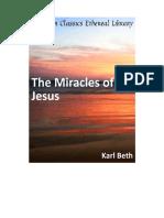 The Miracles of Jesus (Karl Beth)