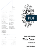 Norwin MS Winter Band Concert 2015