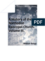 A History of the Methodist Episcopal Church Volume III (Nathan D.D.bangs)