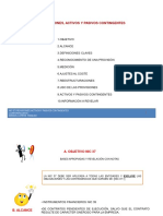 Nic 37 Provisiones, Activos y Pasivos Contingentes
