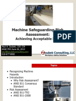 Machine Guarding Risk Assessment