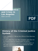 Criminal Justice and Crime in Los Angeles