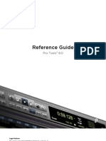 Pro Tools Reference Guide v80