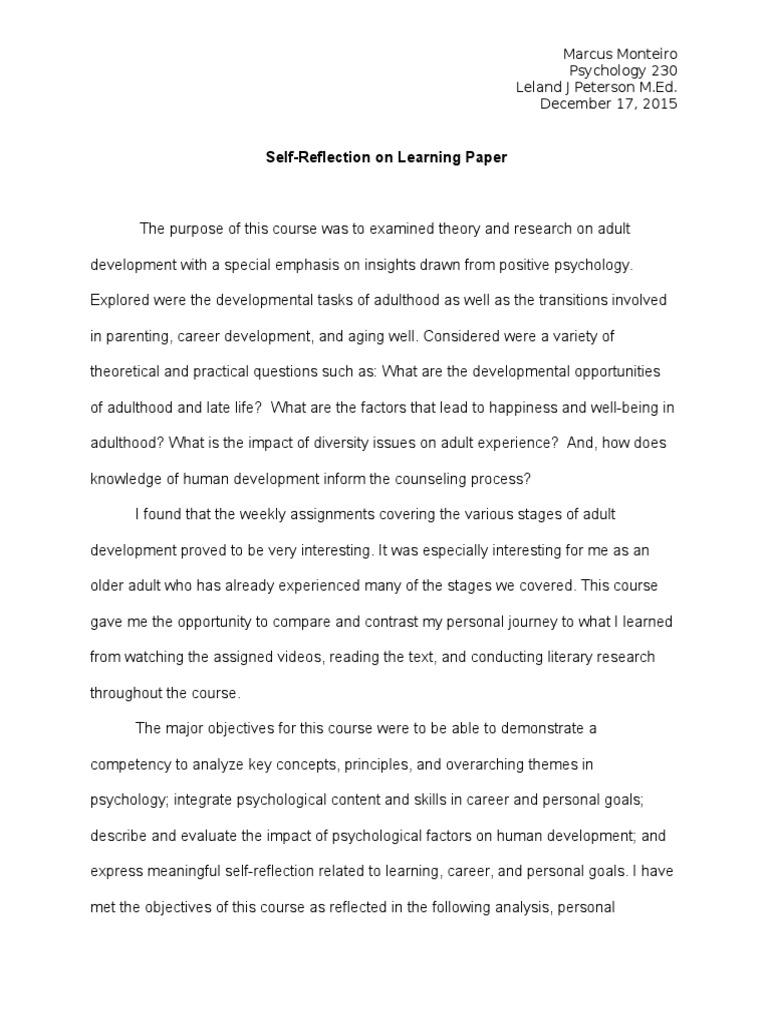 samples of essays written topics students
