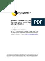 symantec netbackup cluster