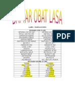 Daftar Obat Lasa Pbh Edit