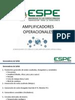 Amplificadores Operacionales. Generadores de Señal