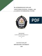 TASK ANTROPOLOGY OF LAW (PAPER BAHASA INGGRIS ANTROPOLOGI HUKUM).docx