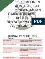 Karakterisasi Komponen Minor Feromon Agregat Dalam