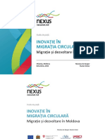 IASCI-CIVIS Migratie Si Desvoltare in Moldova Studiu de Piata 2014
