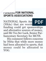 MCYS says preparations for YOG are on track