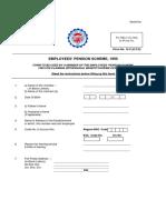 PF Form10C Employee Pension Fund Scheme