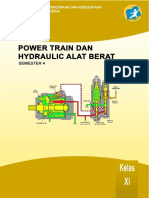 Power Train Dan Hydraulic Alat Berat Xi 4
