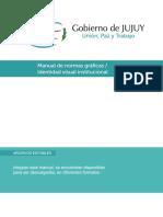 Manual Identidad Visual Gobierno de Jujuy