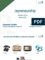 Presentation 0 - Entrepreneurship Goethe