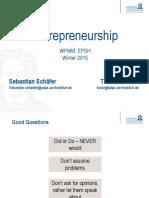 Presentation 4 - Entrepreneurship Goethe
