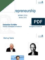 Presentation 5 - Entrepreneurship Goethe